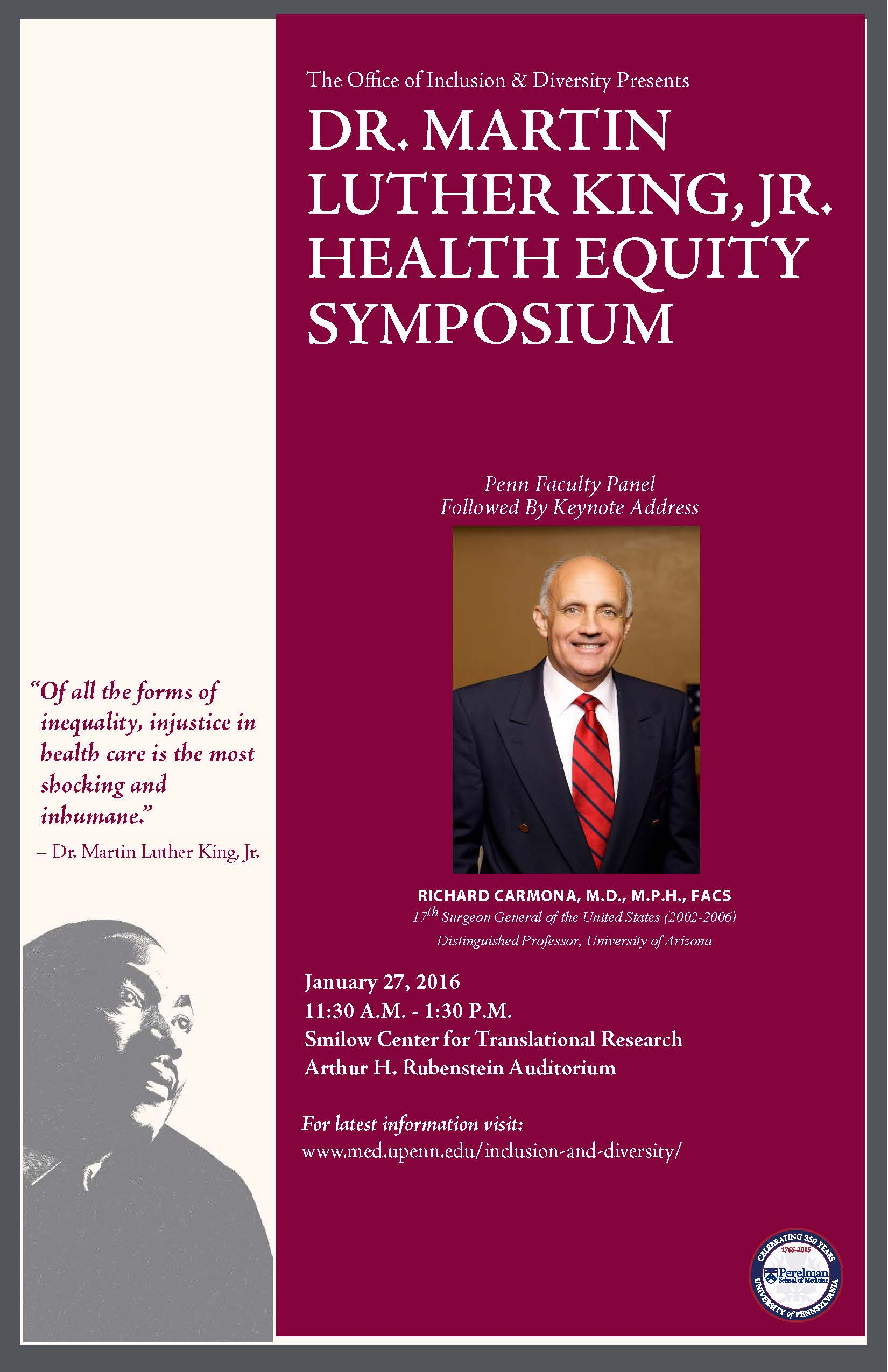 MLK Health Equity Symposium