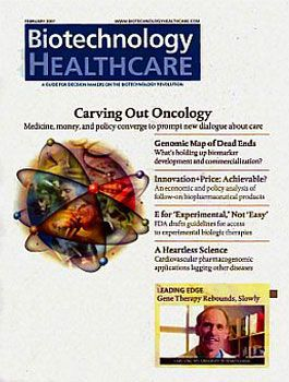 Biotechnology Healthcare cover with Carving Out Oncology