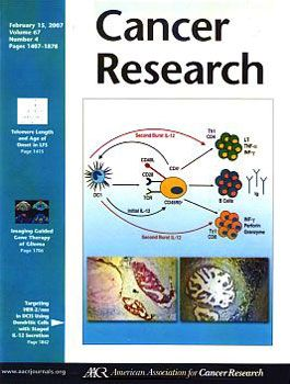Cancer Research Cover