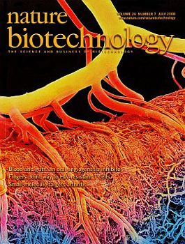 Nature Biotechnology cover July 2008