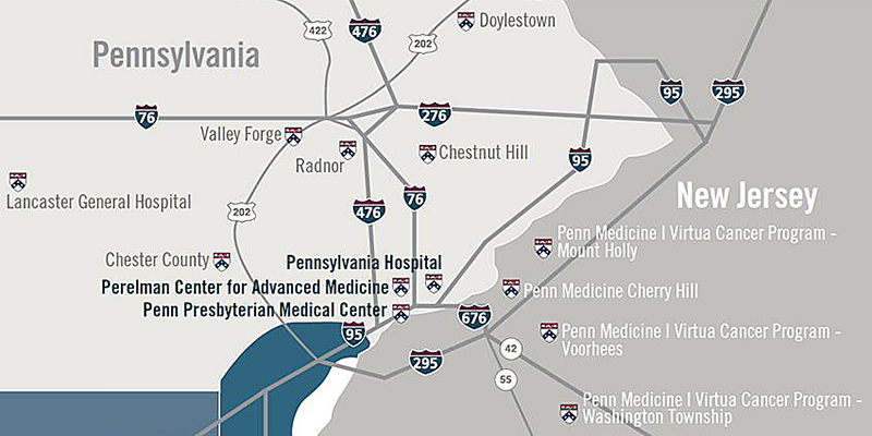 Penn Radiation Oncology Locations | Medical Physics