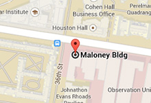 map of Maloney Building