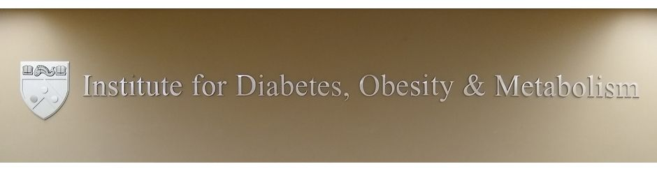 Institute for Diabetes, Obesity & Metabolism sign