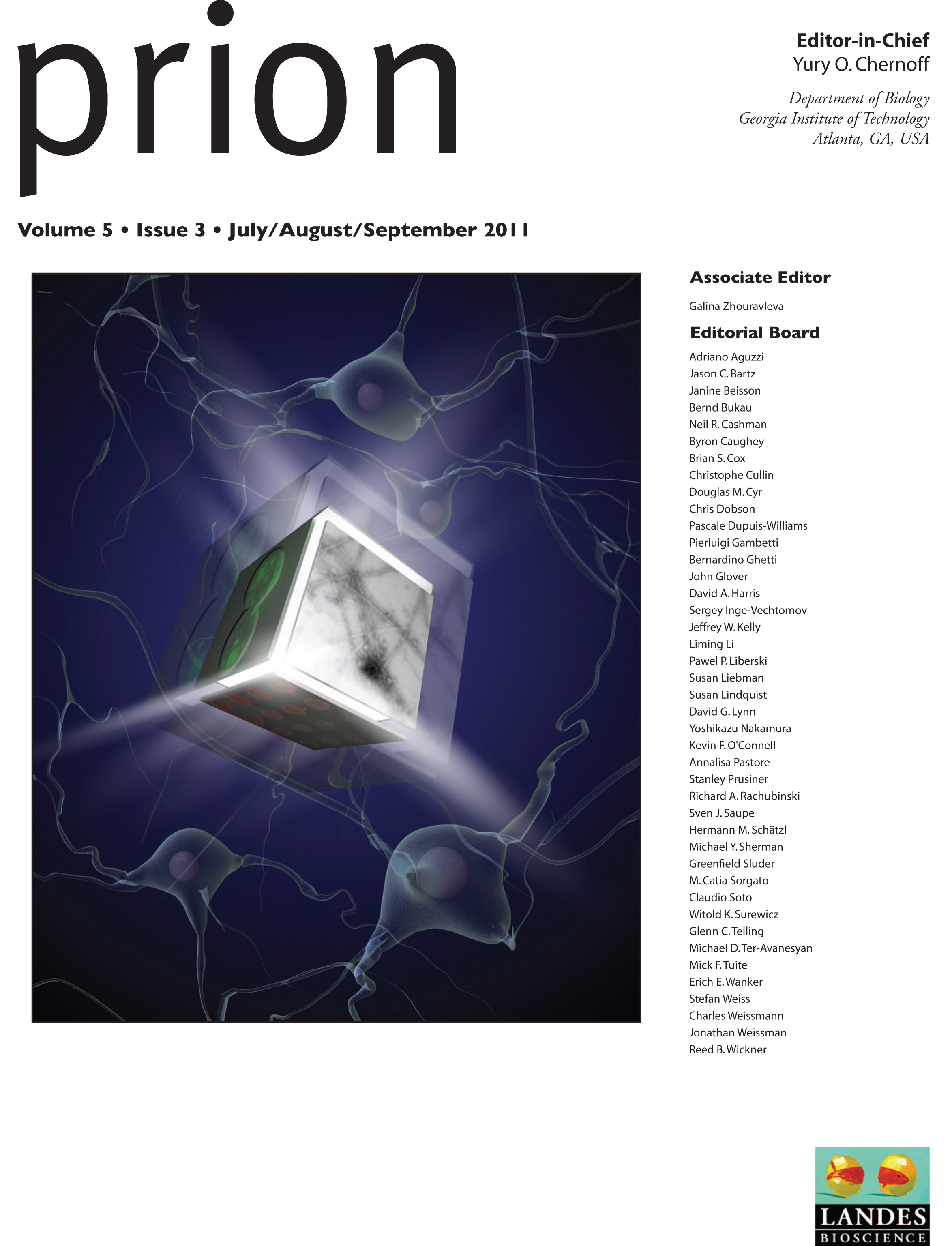 prion disease research papers